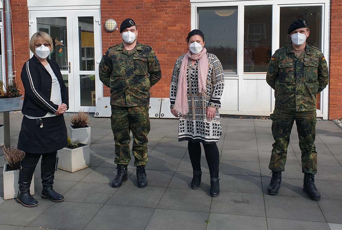 Die Unterstützung geht weiter - zweiter Einsatz der Bundeswehr